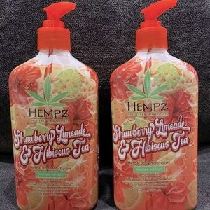 2 hemps, limited edition herbal body lotions